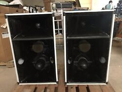 Pair Community Professional Sound Systems Rs660 Three Way Passive Loud Speakers