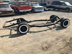 1957 57 Ford Car Fairlane Galaxie Frame Rolling Chassis Hot Rod Used Oem