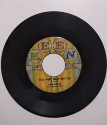 Sam Cooke You Were Made For Me/lonely Island Classic Vinyl 45 Keen Records