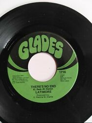 Latimore Thereand039s No End / Stormy Monday 45 Rpm Vinyl Rare Vtg Glades Records