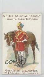 1900 Grenadier Cigarettes Our Colonial Troops Viceroy Of India's Bodyguard Jn1