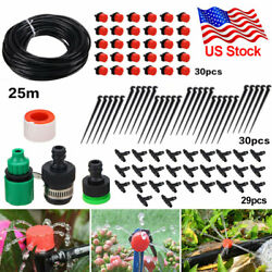 82ft Plant Automatic Drip Irrigation System Kit Diy Self Watering Garden Hose Us