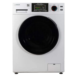 Equator Ez5500 Super Combination All In 1 Ventless Home Washer Dryer Unit, White
