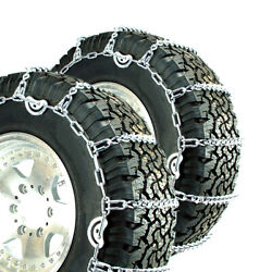 Titan V-bar Tire Chains Cam Type Ice Or Snow Covered Roads 7mm 13/80-20