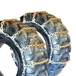 Titan Alloy Square Link Tire Chains Off Road 11mm 18.00-33