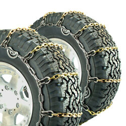 Titan Truck Alloy Square Link Tire Chains Cam On Road Icesnow 8mm 44x18.50-15