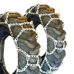 Titan H-pattern Tractor Link Tire Chains Snow Ice Mud 10mm 13.6-26