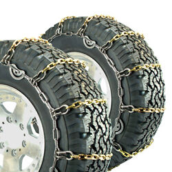 Titan Truck Alloy Square Link Tire Chains Cam On Road Icesnow 8mm 15-22.5