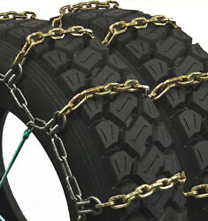 Titan Hd Alloy Square Tire Chains Dual Off/on Road Ice/snow 7mm 265/75-15