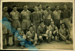 Ww2 1/8th Battalion Lancashire Fusiliers Officers Football Team In India