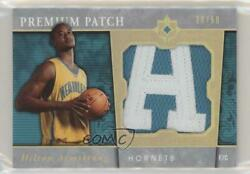 2006-07 Ultimate Collection Premium /50 Hilton Armstrong Pr-ha Rookie Patch