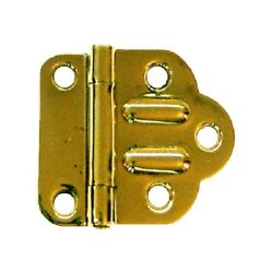 Mcdougall Brass Offset Hinge Antique Cabinet Furniture Reproduction Hardware New