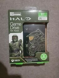 Seagate Xbox Game Drive 2tb Halo Master Chief Limited Edition New. Free Usa Ship