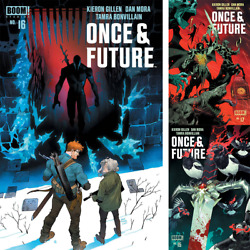 Once And Future 15 16 17 Select Issue And Cover Boom Kieron Gillen Dan Mora 2021