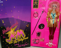 Jem And The Holograms Comic Con 80s New Wave Classic Hollywood Doll Sdcc Xmas