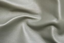 50 Sf. L. Green Gray Pearlized Metallic Sheen Whole Cow Hide Leather Skin Liy