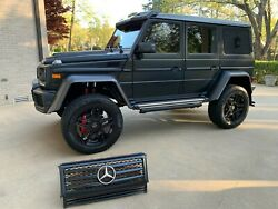 Mercedes G Wagon 4x4 Squared Front Grill G550