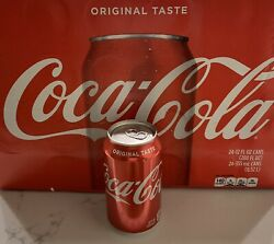 Error - Coke Can Sealed Empty Factory Mistake - With Original Box-paperwork Rare