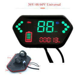 Electric Bicycle Multifunction Indicateing Watch Universal For 36/48/60v