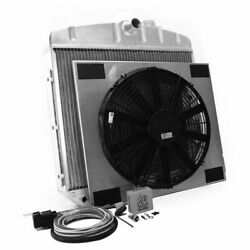 Griffin Radiator Combo Unit Gm 55-57 Chevy Cu-70018