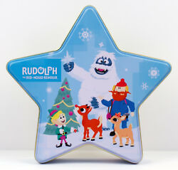 Rudolph The Red Nosed Reindeer New Carlton Cards Set 3 Mini Ornament Bumble Tin