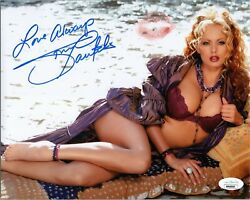 Stormy Daniels Authentic Signed And Kissed Sexy Adult Star 8x10 Photo Jsa Coa