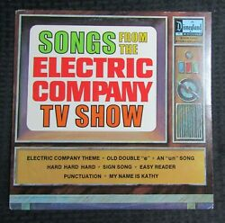 1973 Songs From The Electric Company Tv Show Lp Vg+/vg Disneyland – Ster-1350