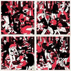 Cleon Peterson The Occupation - 2008 Limited Edition Of 140 Rare 4 Print Set