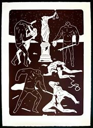 Cleon Peterson Justice Limited Edition Of 99