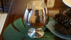 Magnificent And Co Sterling Silver Brandy Snifter Decanter With Pour Spout