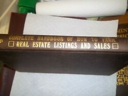 Complete Handbook Of How To Farm Real Estate Listings And Sales By Jack Cummings