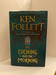 Ken Follett The Evening and the Morning. In very very good condition. Hardcover $21.80