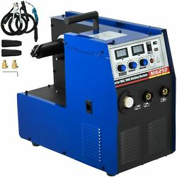 2-in-1 Built Wire Feeder Inverter Welding Machine With Efficient Cooling Fan New