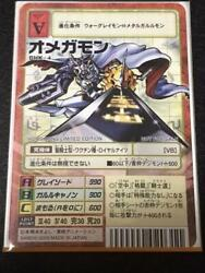Old Digimon Card Bhk-4 Omegamon Hong Kong Limited Promotion