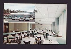 Old Vintage Postcard Edison Cafeteria Restaurant And Lounge Fort Myers Florida