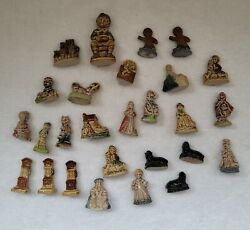 Wade Porcelain Made In England 27 Whimsies Nursery Rhymes Figurines Collect Gift