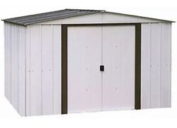 Arrow Sheds 10x8ft Newburgh Outdoor Garden Steel Storage Shed