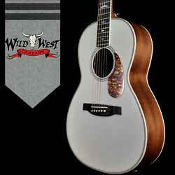 Paul Reed Smith Prs Limited P20e Parlor Guitar Fishman Gt1 Pickup Antique White