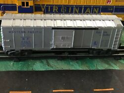 Lionel Post-war 6464-1 Western Pacific Boxcar In Bright Blue.  See Pictures.