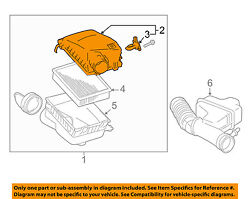 Toyota Oem Tacoma Air Cleaner Intake-filter Box Housing Lid Top Cover 177050p220