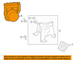 Toyota Oem 17-18 Highlander Abs-actuator Assembly 440500e300