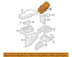 Toyota Oem 2004 Camry Electrical Fuse Relay-junction Block 8273006150