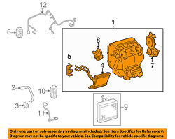 Toyota Oem 07-11 Camry 2.4l-l4 Hvac-ac And Heater Assembly 8705006410