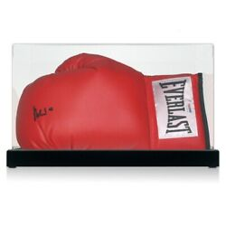 Muhammad Ali Signed Boxing Glove Psa Dna 5a46978. In Display Case