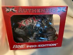 Very Rare Vintage Bike Xfl League Ful Size Game Football Helmet New In Box Nos