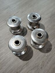 4 Barient Usa 10 10h Stainless Steel Single Speed Winch Winches Good Condition
