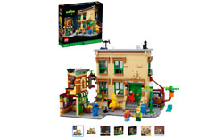 Lego Ideas 123 Sesame Street 21324 Building Kit Awesome Build-and-display Model