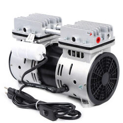 Electric Oil-free Micro Air Diaphragm Pump Industrial Vacuum Pump 1400rpm 550w