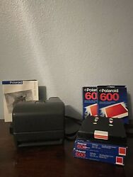 Polaroid One Step Close-up 600 Instant Film Camera Vintage Working With Film