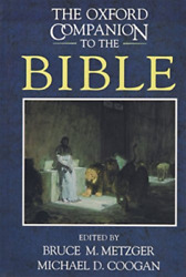 Oxford Companion To The Bible Bookh New